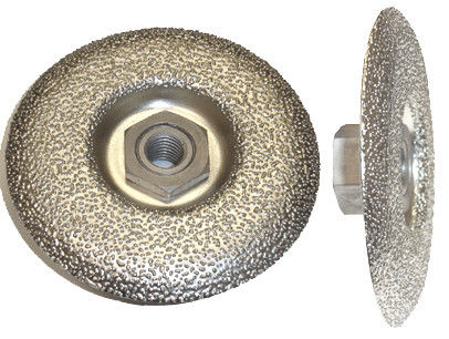Vacuum Brazed Diamond Grinding Disc , Continuous Diamond Cup Wheel