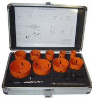 13 Pieces M42 Bi Metal Hole Saw Kit Packing In Metal Case Easy Carrying
